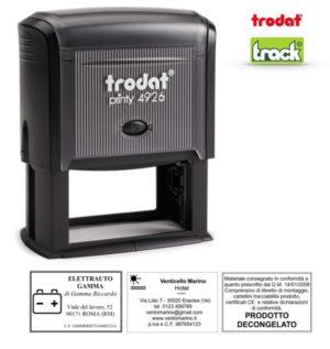 Timbro Autoinchiostrante Personalizzato Imprint 12 Completo di Personalizzazione
