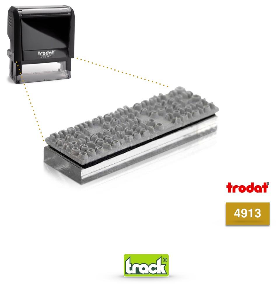 Gomma Testi di Ricambio Timbro 4913 Prezzi Trodat
