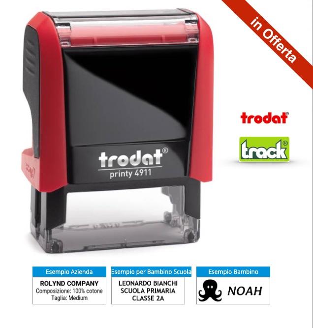 Prezzi - Timbro Per Tessuti 4911 Vendita Online