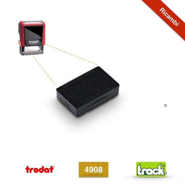 Prezzo Inchiostro di ricambio per Timbro Personalizzato 4908